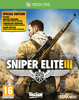 Sniper Elite III Special Edition Xbox One Cover Art