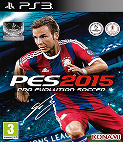 Pro Evolution Soccer 2015 PlayStation 3