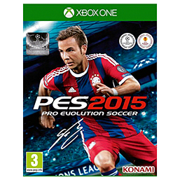 Pro Evolution Soccer 2015 Xbox One Cover Art