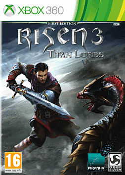 Risen 3: Titan Lords Xbox 360 Cover Art