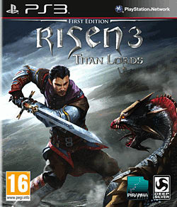 Risen 3: Titan Lords PlayStation 3 Cover Art