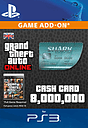 GTA Online Megalodon Shark Cash Card - $8,000,000 PlayStation Network