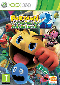 Pacman and Ghostly Adventures 2 Xbox 360 Cover Art