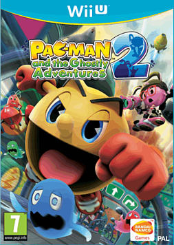 Pacman and Ghostly Adventures 2 Wii U Cover Art