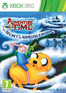 Adventure Time: The Secret of the Nameless Kingdom Xbox 360 Cover Art