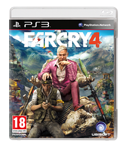 Far Cry 4 PlayStation 3 Cover Art