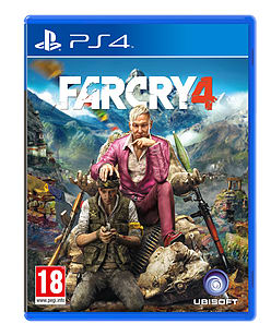 Far Cry 4 PlayStation 4 Cover Art