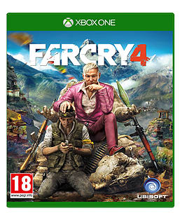 Far Cry 4 Limited Edition Xbox One Cover Art