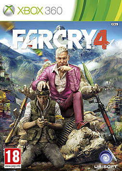 Far Cry 4 Xbox 360 Cover Art
