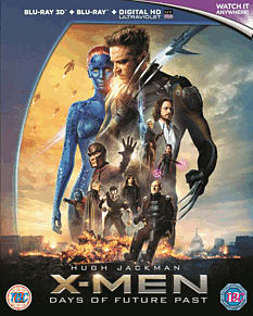 X-Men Days of Future Past 3D 3D Blu-Ray
