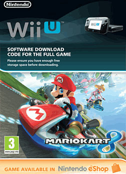 Mario Kart 8 Wii U Cover Art