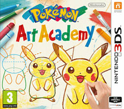 Pokémon Art Academy 3DS Cover Art