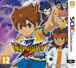 Inazuma Eleven GO: Shadow 3DS Cover Art