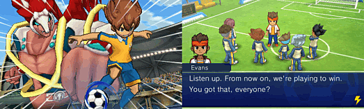 Inazuma Eleven GO: Shadow screen shot 5