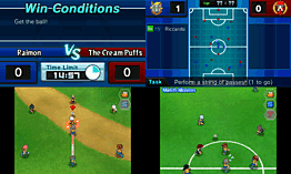 Inazuma Eleven GO: Shadow screen shot 9