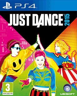 Just Dance 2015 PlayStation 4 Cover Art