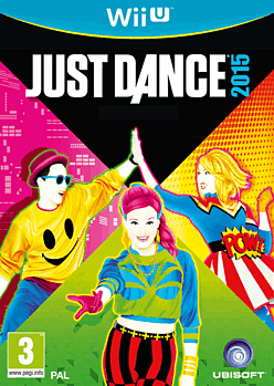 Just Dance 2015 Wii U Cover Art