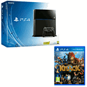 Refurbished PlayStation 4 console and Knack PlayStation 4