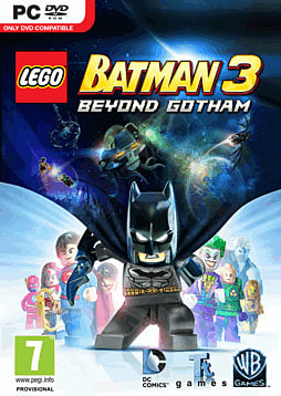 LEGO Batman 3: Beyond Gotham PC Games Cover Art