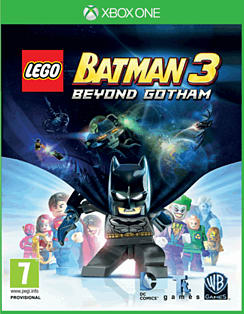 LEGO Batman 3: Beyond Gotham Xbox One Cover Art