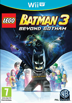 LEGO Batman 3: Beyond Gotham Wii U Cover Art