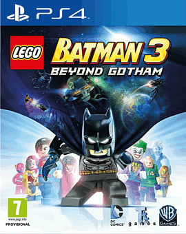 LEGO Batman 3: Beyond Gotham PlayStation 4 Cover Art