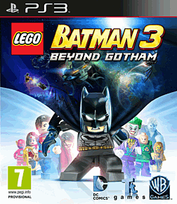 LEGO Batman 3: Beyond Gotham PlayStation 3 Cover Art