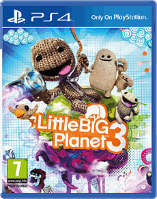 LittleBigPlanet 3 PlayStation 4 Cover Art
