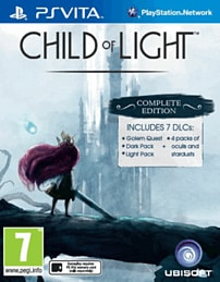 Child of Light Complete Edition PS Vita Cover Art