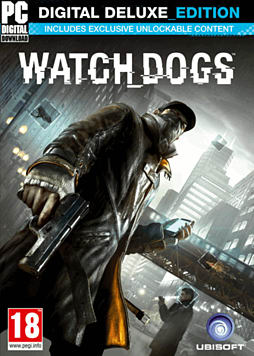 Watch Dogs - Digital Deluxe Edition PC Games Cover Art