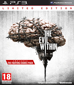 The Evil Within Limited Edition PlayStation 3 Cover Art