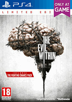 The Evil Within Limited Edition PlayStation 4 Cover Art