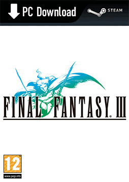 Final Fantasy III PC Games Cover Art
