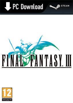 Final Fantasy III PC Games Cover Art