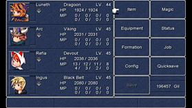 Final Fantasy III screen shot 7