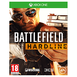 Battlefield: Hardline Xbox One Cover Art