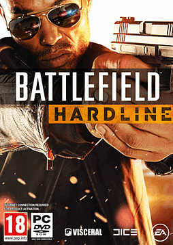 Battlefield: Hardline PC Games Cover Art