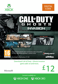 Call of Duty: Ghosts - Invasion Xbox Live Cover Art