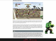 Lego Marvel Super Heroes(PS4, PS3, Xbox One, Xbox 360, Nintendo WiiU, PC) eGuide screen shot 1
