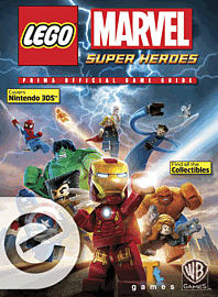 Lego Marvel Super Heroes (3DS) eGuide Strategy Guides and Books