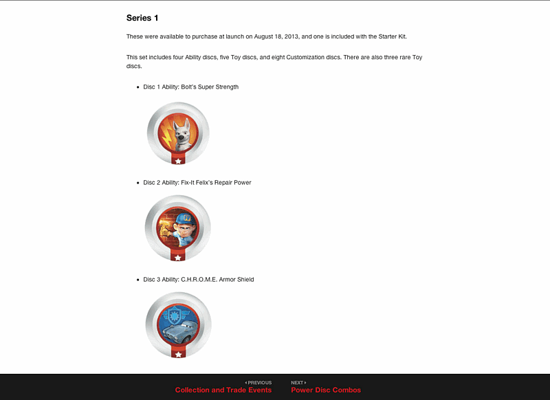 Disney Infinity 2014 Revised Edition eGuide screen shot 1