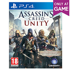 Assassin's Creed: Unity Revolution Edition - Only at GAME PlayStation 4 Cover Art