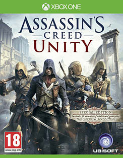 Assassin's Creed: Unity Revolution Edition Xbox One Cover Art