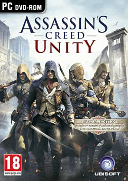 Assassin's Creed: Unity Revolution Edition PC Games Cover Art