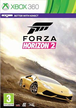 Forza Horizon 2 Xbox 360 Cover Art