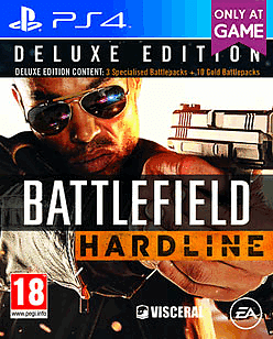 Battlefield: Hardline Deluxe Edition - Only at GAME PlayStation 4 Cover Art