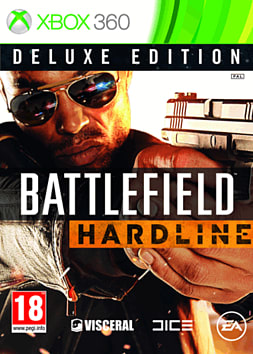Battlefield: Hardline Deluxe Edition - Only at GAME Xbox 360 Cover Art