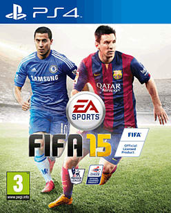 FIFA 15 PlayStation 4 Cover Art