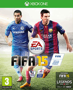 FIFA 15 Xbox One Cover Art