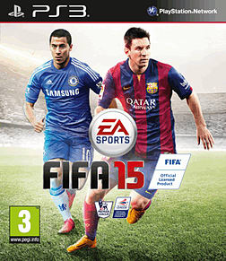 FIFA 15 PlayStation 3 Cover Art